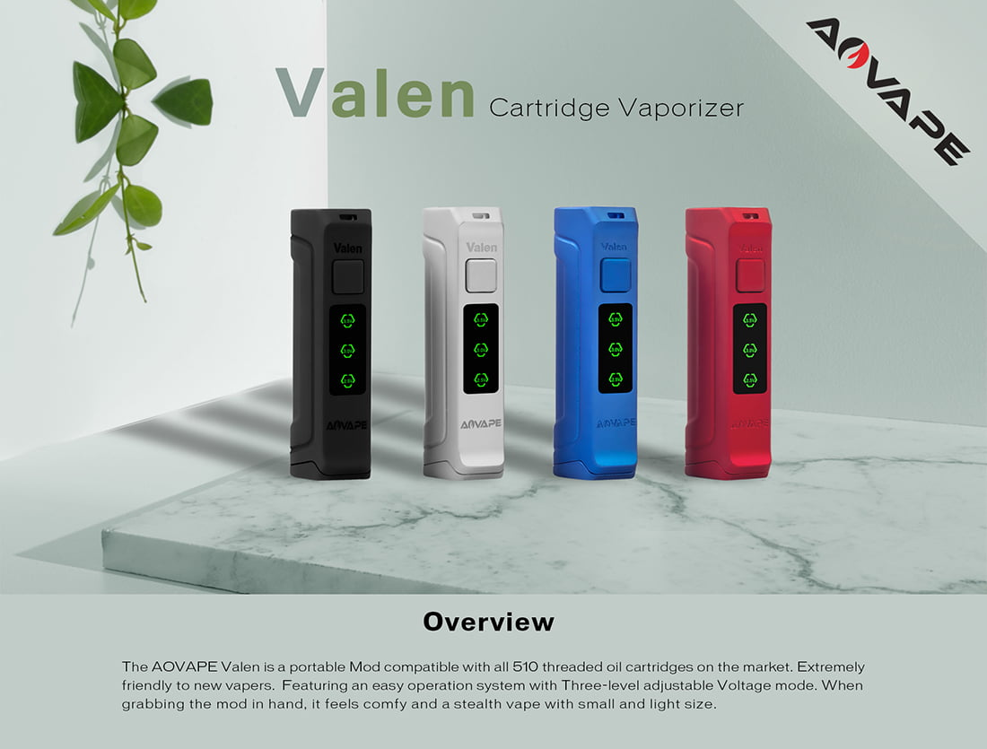 510 Thread Batteries- Valen