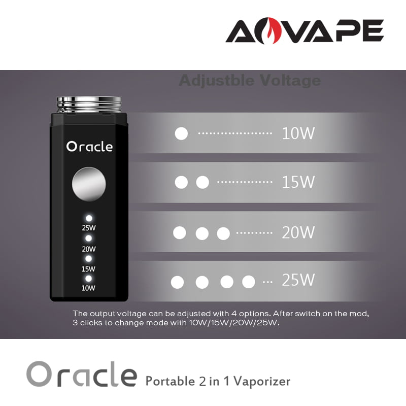 Oracle Dab Pen Adjustable Voltage