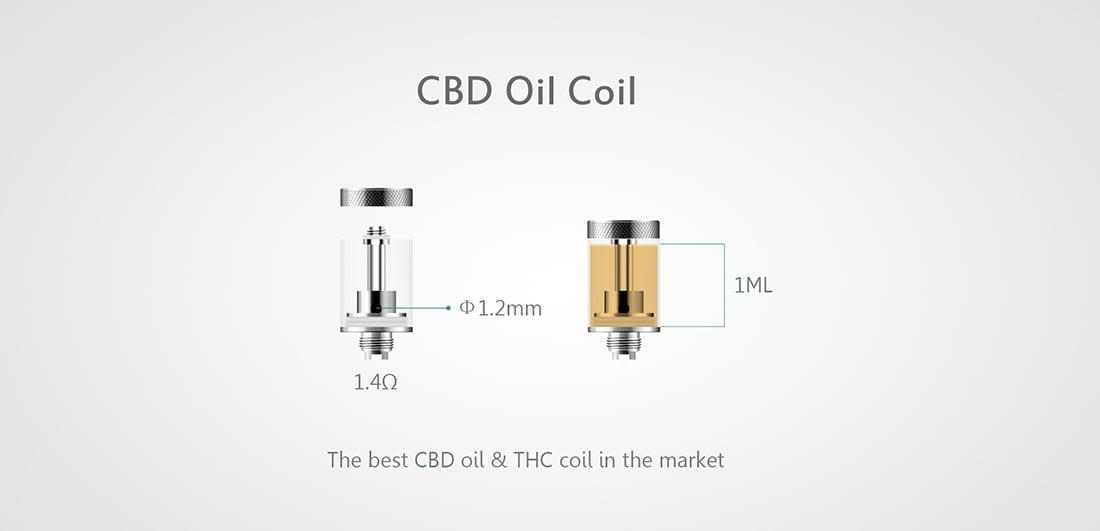 Oracle Oil Pen - CBD-THC Oil Coil