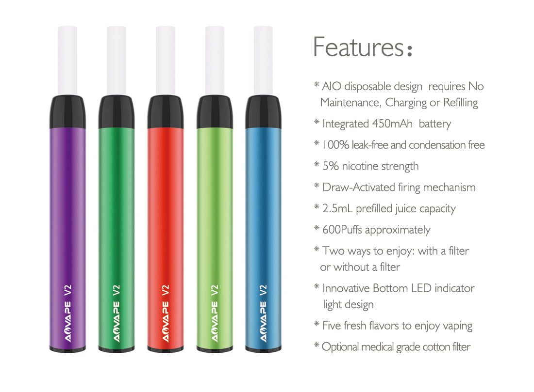 Disposable e cig V2-3