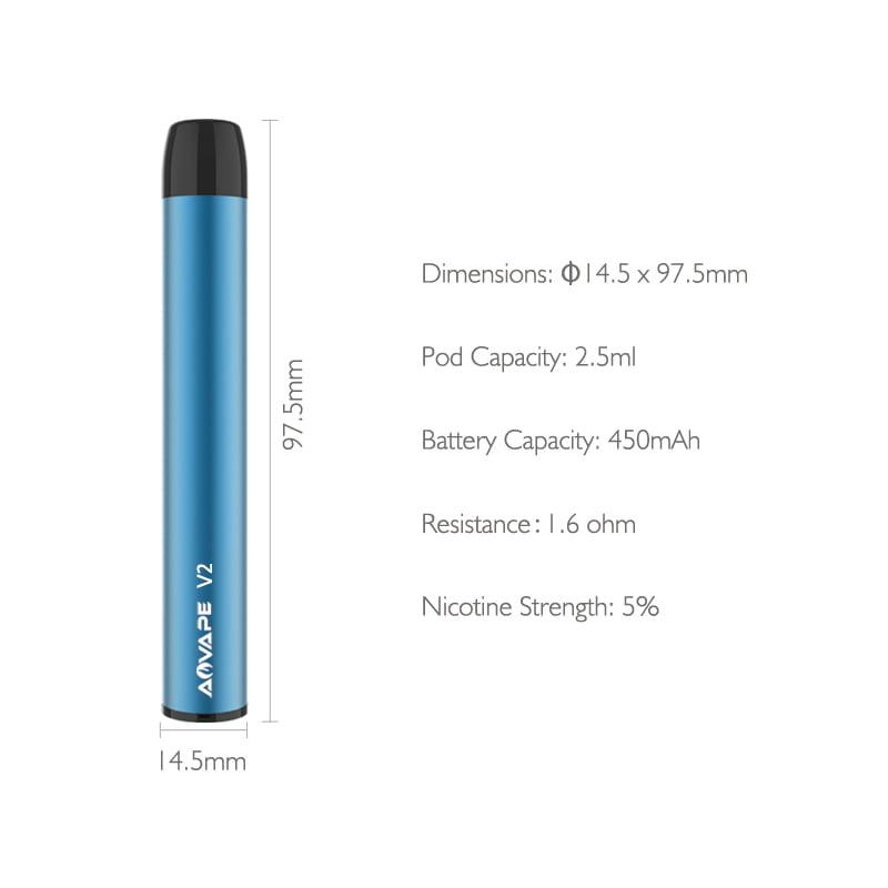 Disposable e cigarette V2-4