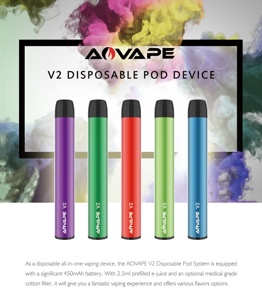 Disposable pod V2-1
