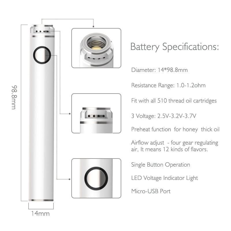 B1 Dab Pen Battery